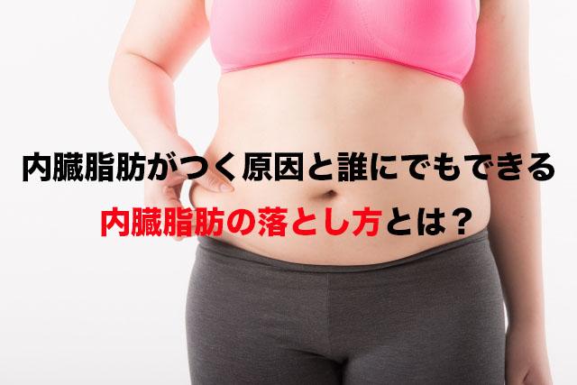 内臓脂肪がつく原因と誰にでもできる内臓脂肪の落とし方とは?